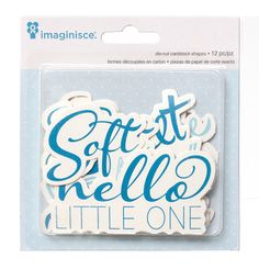 Imaginisce+-+My+Baby+Collection+-+Die+Cut+Cardstock+Pieces+-+Boy+Phrases+at+Scrapbook.com
