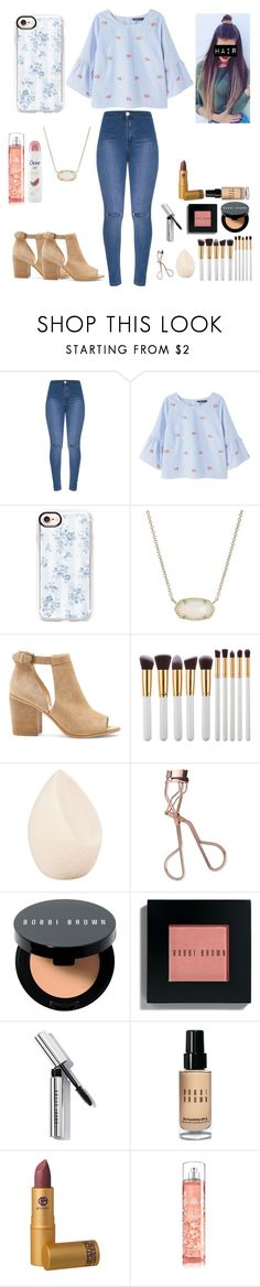 """""""Stay and watch"""" by look-in-the-clouds ❤ liked on Polyvore featuring Violeta by Mango, Casetify, Kendra Scott, Sole Society, My Makeup Brush Set, Christian Dior, Charlotte Tilbury, Bobbi Brown Cosmetics, Lipstick Queen and Dove"""