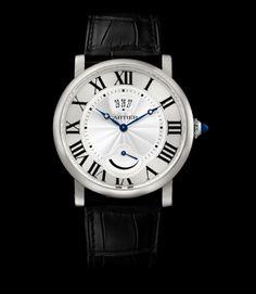 Orologio Cartier Rotonde #curnis #gioielleria #orologeria #cartier #sihh2016 #caricamanuale #powerreserve #watches