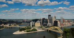 Pittsburgh Skyline Time Lapse in 4K Resolution by James Orlowski. A 4K resolution (4096x2160) time lapse shot of the Pittsburgh skyline on a summer's day as seen from Mt. Washington.  Shot on June 26th, 2012 between 4.30pm and 6.00pm.  The camera was set to capture an image once every 8 seconds.  Made up of over 800 individual images, the end result is 90 minutes compressed to 26 seconds.  Corporate logos on the buildings removed for general stock footage use.