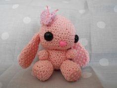 Handmade bunny approx 9.5cm to top of head plus ears, various colours, ears, accessories. A basic one like this is £15 Feb 2014. www.jellypoppy.co.uk