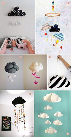 DIY Cloud Mobiles