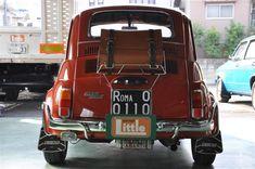 Fiat 500l, Bike, Orange, Cars, Vintage, Autos, Bicycle, Trial Bike, Vehicles