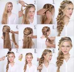 SUPER COOL! Romantic Side Braid Tutoria