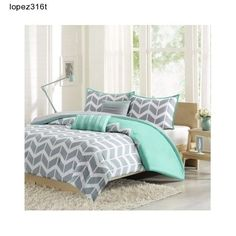 Shop for Intelligent design nadia comforter set in purple grey white at Bed Bath & Beyond. Buy top selling products like Intelligent Design Nadia Twin/Twin XL Comforter Set in Purple/Grey/White and undefined. Shop now! Teal Comforter, Teen Bedding, Comforter Sets, King Comforter, Queen Duvet, Gray Bedding, Yellow Bedding, Little Girl Bedrooms, Teen Girl Bedrooms