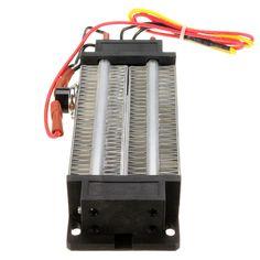 1ピースptcセラミック空気ヒーター電気ヒーター300ワット220ボルトac dc絶縁型118*50ミリメートル熱すぐに安全