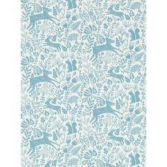 BuyScion Kelda Wallpaper, Cobalt, 111107 Online at johnlewis.com