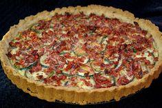 zucchini and sundried tomato tart by diane.smith