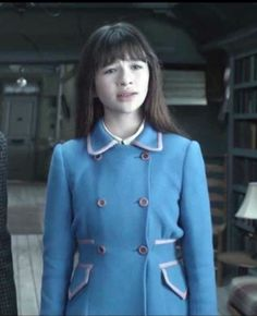 "Lovely coat - Netflix Lemony Snicket ""A Series of Unfortunate Events"" - Malina Weissman as Violet Baudelaire - Costumes by Angus Strathie"