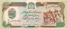 Motivseite: Geldschein-Asien-Afghanistan-Afghani-500-۱۳۷۰