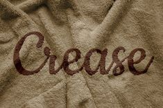 How to Create a Realistic Creased Text Effect Using the Displace Filter