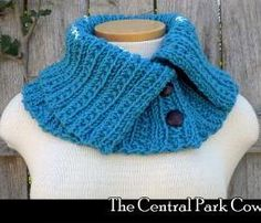 The Central Park Cowl knitting pattern