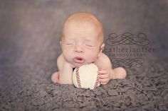 newborn baseball. I will take a picture like this with my boy for sure
