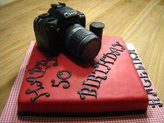 A canon Birthday cake....  LOVE it!!