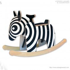 A' Design Award and Competition - Images of Rocking Zebra by Daniel Cox