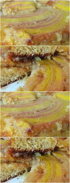 MODO DE PREPARAR:Pré-aqueça o forno a 180°C. Unte e forre (ou só unte com margarina) #receita#bolo#torta#doce#sobremesa#aniversario#pudim#mousse#pave#Cheesecake#chocolate#confeitaria# Mole, Bananas, 180, Sandwiches, Cheesecake, Chocolate, Easy Trifle Recipe, Dump Cake Recipes, Pudding