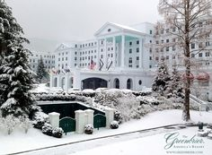 The Greenbrier Hotel, West Virginia. luxury resort located just outside the town of White Sulphur Springs in Greenbrier County, West Virginia, United States.