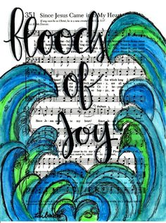 Featuring Southern Gospel Hymn Art Prints Project Journaling Cards Size 3x4 Life Pocket Size Tai Bender Growing Meadows Bible Journaling Page Since Jesus Came into my Heart