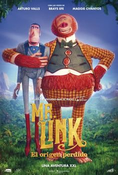 Missing Link poster, t-shirt, mouse pad Donald Glover, Timothy Olyphant, Retro Poster, Poster S, Stop Motion, Godzilla, Avengers, Myths & Monsters, Dragon King