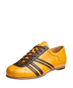 Zeha Berlin Carl Hässner Club Sedatan dark yellow Yellow Sneakers, Adidas Samba, Catwalk, Berlin, Adidas Sneakers, Club, Dark, Fashion, Cottage Chic