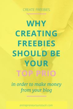 Freebies are a must-have in online business. Learn how to create excellent free content and why it's worth to put even your best ideas into it. Email Marketing Strategy, Content Marketing, Online Marketing, Media Marketing, Business Entrepreneur, Business Tips, Online Business, Email Campaign, Blogging For Beginners