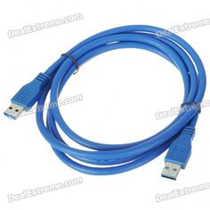 USB 3.0 AM/AM Cable (1.8M-Length). Standard USB 3.0 AM/AM Cable - Super high transmission speed - USB plug & play - Cable length: 1.8m. Tags: #Computers/Tablets #Networking #Cables #Adapters #Computer #Cable #Adapter