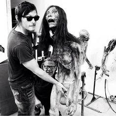 Haha. Norman Reedus  The Walking Dead / Daryl Dixon
