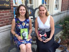 Elaine Dimopoulos, author of Material Girls, and Trisha Leaver, author of Secrets We Keep