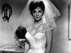Gina Lollobrigida. Dress.