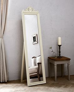 8352840dc5c2 Buy Pimlico Cheval Mirror, 180 x Cream from our Mirrors range at John Lewis  & Partners.