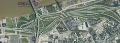 Kennedy Interchange, Louisville, Kentucky  #amazingarchitectures #travel