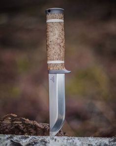 Introducing new knife model - Northlander Forest Knife. Blade forged out of Japanese super steel ZDP-189 (3.0% of Carbon). Hardened in dry ice to HRC-67. Convex Scandi grind. 12000 girt mirror polish. Titanium (Grade 5) guard and handle back. Stabilised curly birch, camel bone and silver layer handle. Turkish walnut burl magnetic wooden sheath with leather inlays. Soon will be available for ordering from our website along with other new ZDP189 steel knife models. Specification: Overall…