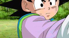 Battle of Gods no longer makes sense with Beerus struggling to keep up with a Super Saiyan God Goku. Good Anime Series, Good Manga, Dbz, Manga Anime, Anime Boys, Goten E Trunks, Goku And Chichi, Dragon Ball Z Shirt, Kid Goku