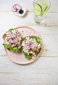Radish Salad Sandwiches – A Beautiful Mess