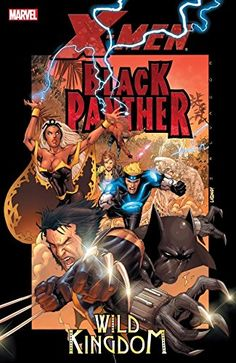 X-Men / Black Panther: Wild Kingdom:   Collects X-Men (2004) #175-176 and Black Panther (2005) #8-9.br /br /Investigating a sudden outburst of strange, mutated wild animals in Africa, the X-Men - led by Storm - come face to face with something worse: mutant bio-organisms the likes of which the world has never seen. The key to unraveling their secret - and defeating them - may lie in that region's protector - the Black Panther!