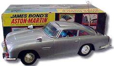 James Bond Aston Martin by Gilbert