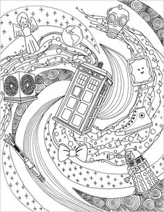 Doctor Who Coloring Pages - Best Coloring Pages For Kids