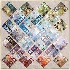 Geese Migration quilts Pattern ( PDF FREE)