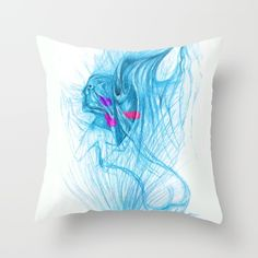 #drawing #painting #abstractpainting #pillow #extravagant #angel #prayer