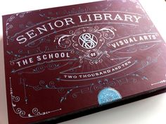 Packaging for a book. Designed by Louise Fili. Love the typography and the idea!