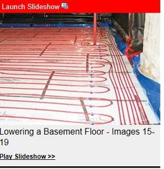 Lovely Cost Of Lowering Basement Floor