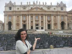 Rose Ramalho em Basilica San Pietro, Roma