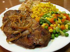 Pork Chop Dinner - First Full Meal! [Recipe 007]