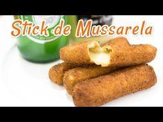 Sticks de Mussarela Empanados - Receitas de Minuto #54