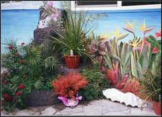 backyard murals - Google Search