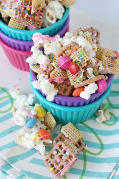 Really nice recipes. Every hour. — Party Popcorn Snack Mix Follow for recipes Get...