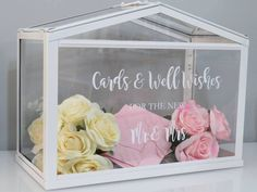 Wishing Well Decal Wedding Engagement Cards and Well Wishes ' Mrs Mr ' ' Mrs Mrs ' ' Mr Mr ' same sex by JamiesDesignBoutique on Etsy https://www.etsy.com/au/listing/588484027/wishing-well-decal-wedding-engagement #SeptemberWeddingIdeas