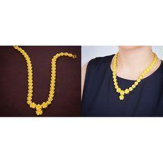 Thai Gold Flower Necklace