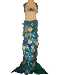 Child's Custom Luxury Mermaid Costume by starvisions on Etsy, $99.00