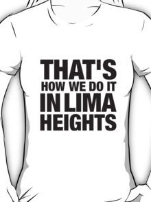 Lima Heights - Black T-Shirt